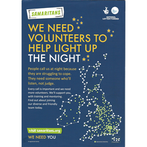 Samaritans Light Up the Night poster thumbnail